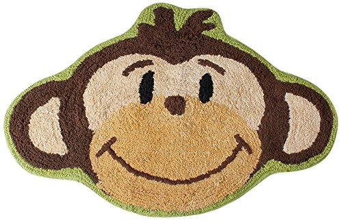 Monkey Town Bath Rug