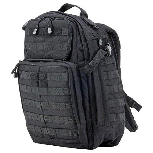 Black Backpack Diaper Bag front-1076090