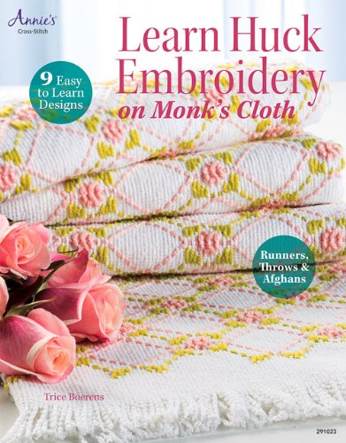 Learn Huck Embroidery on Monk's Cloth (Annie's Needlework) (Monks Cloth compare prices)
