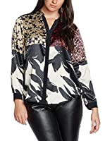 Elena Mirò Camisa Mujer (Negro / Nata / Multicolor)