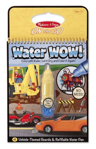 Vehicles: Water Wow Activity Book