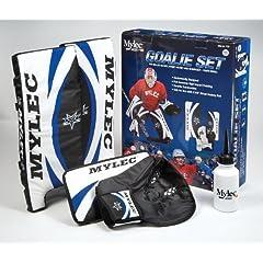 Buy Mylec Goalie Set, Blue White Black, 21-Inch by Mylec