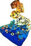 =>>  Prettystern P170 - 160cm long Silk Stola Scarf based on Gustav Klimt Printing - Stoclet-Fries - Life Tree (multi-colours)