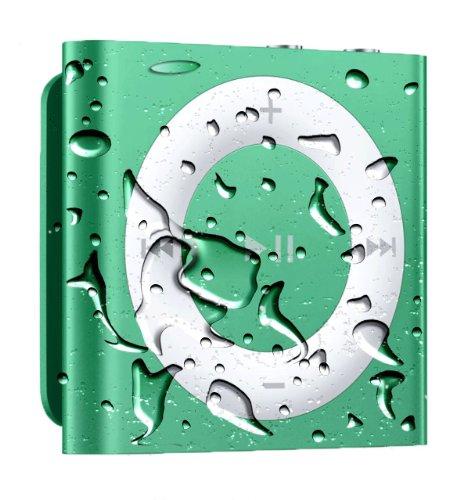 Waterproof Ipod Shuffle With Free Waterproof Headphones - Green