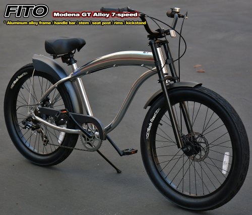 3 star and up bikes: Anti-Rust Aluminum frame, Fito Modena