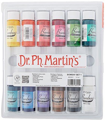 dr-ph-martins-bombay-india-ink-bottles-05-oz-set-of-12-set-1