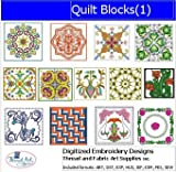 Machine Embroidery Designs - Quilt Blocks(1) - CD
