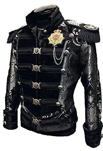 Shrine-Gothic-Victorian-Steampunk-Vintage-Napoleon-Military-Army-Parade-Coat-Jacket