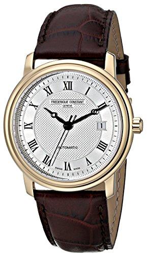 Frederique Constant Men's FC-303MC4P5 Classics Automatic Silver Roman Numerals Dial Watch image