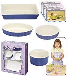 Porcelain Bakeware Set For Childrens Kitchen