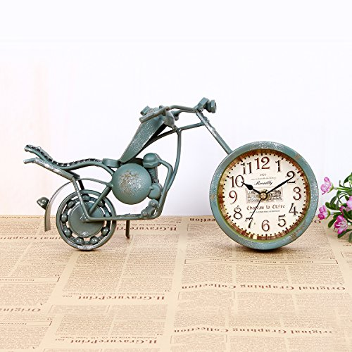 kinine-ornements-dhorloge-horloge-creative-fer-vintage-peinture-moto-unique-silencieux-bell-ouvre-de