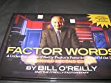 img - for Factor Words: A Collection of the O'Reilly Factor Favorite Words of the Day, 2nd Edition Hardcover - 2012 book / textbook / text book