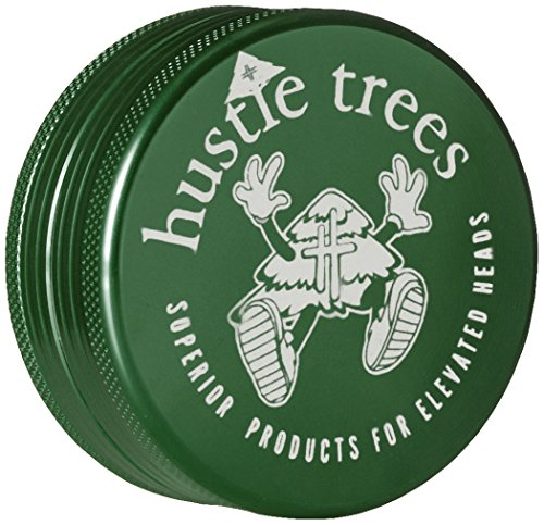 Hustle Trees Men's Two Piece 2 Inch Grinder, Kelly Green, Small (Men Grinder compare prices)