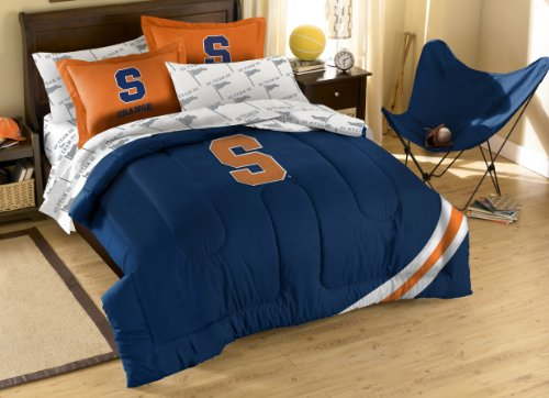Ncaa Syracuse Orange Full Bed In A Bag With Applique Comforter front-846627