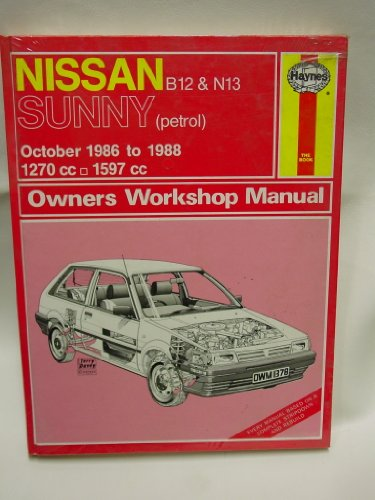 Nissan B12 and N13 Sunny 1986-88 Owner's Workshop Manual (Nissan Sunny B12 compare prices)