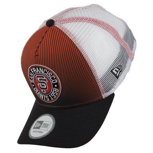 New Era MLB Trucker Badge Cap SAN FRANCISCO GIANTS Sport