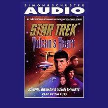 Star Trek: Vulcan's Heart (Adapted)  by Josepha Sherman, Susan Shwartz Narrated by Tim Russ