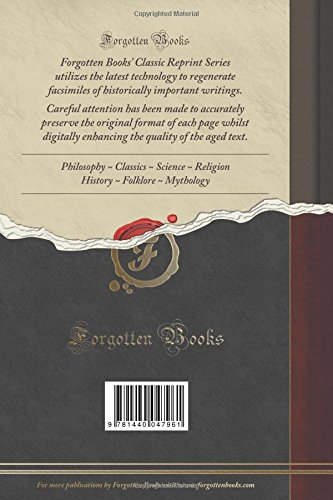 Reincarnation, Vol. 1 (Classic Reprint)