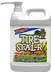 Berryman - Tire Seal-R Sealant with Pump, 1 gallon bottle (1301)