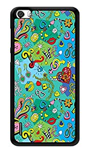"""Humor Gang Love All Around Pattern Printed Designer Mobile Back Cover For """"Huawei Honor 6"""" (3D, Glossy, Premium Quality Snap On Case)"""