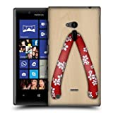 Head Case Red Blossoms Japanese Footwear Back Case Cover For Nokia Lumia 720