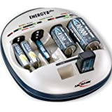 Ansmann 5207442/US Energy 8 Plus Battery Maintenance Universal Desktop Charger