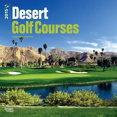 (12X12) Desert Golf Courses - 2015 Calendar