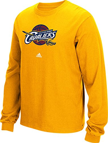 NBA Cleveland Cavaliers Men's Full Primary Logo Long Sleeve Tee, Large, Gold (Cavaliers Merchandise compare prices)