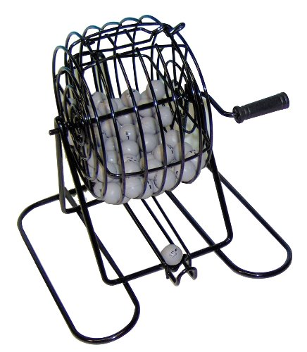 Find Discount Deluxe Wire Cage Bingo Set