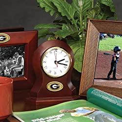 Georgia Bulldogs Memory Company Desk Clock NCAA College Athletics Fan Shop Sports Team Merchandise
