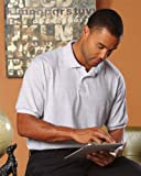 Hanes Mens Stedman Blended Jersey Polo Shirt