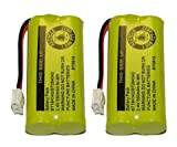 2 Cordless Home Phone Battery for ATT BT184342 BT28433 (Bulk Packaging)