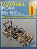 Vauxhall Nova Owner's Workshop Manual John S. Mead
