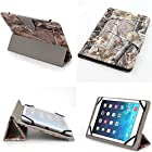 Universal 7 Inch Tablet Pc Case Fits RCA 7 Model No: Rct6773w22 VOYAGER Charcoal (7co) (Camouflage Camo Flag Realtree Mossy Oak Hunting)