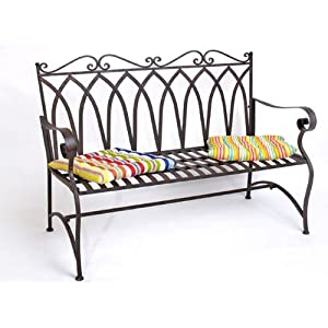gartenbank metall. Black Bedroom Furniture Sets. Home Design Ideas