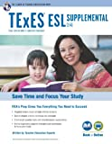 img - for Texas TExES ESL Supplemental (154) Book + Online (TExES Teacher Certification Test Prep) book / textbook / text book