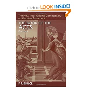 Hectormyms soup the book of the acts new international commentary on the new testament f f bruce sciox Choice Image