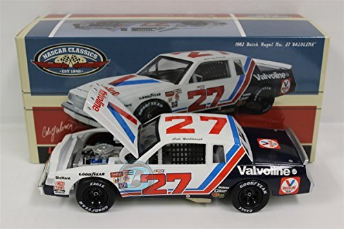 cale-yarborough-27-valvoline-1982-buick-darlington-race-paint-scheme-124-diecast-lionel-collectable-