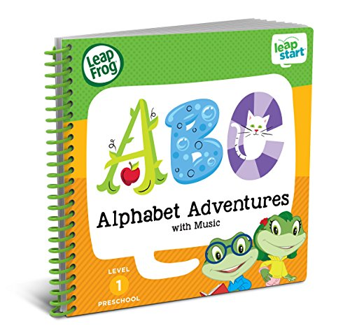 Leap Frog Leap Start Preschool Activity Book: Alphabet Adventures And Music