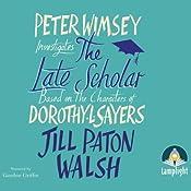 The Late Scholar   Jill Paton Walsh