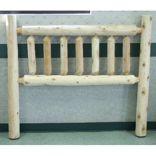 Lakeland Mills Unfinished Wooden Headboard, Queen: 64 in. W x 4.5 in. D x 48 in. H (40 lbs.) 780564-OG-174744-O-879221