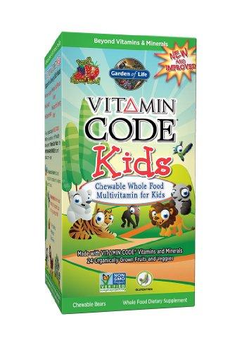 Garden Of Life Vitamin Code Kids, 30 Chewable Bears front-22356