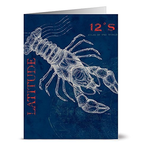 24-note-cards-pier-45-lobster-blank-cards-red-envelopes-included-by-note-card-cafe