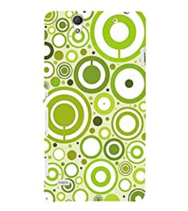 Fuson Premium Printed Hard Plastic Back Case Cover for Sony Xperia C4