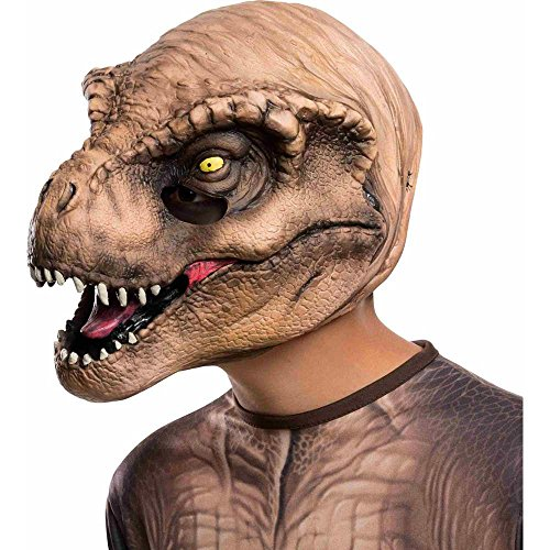 Rubie's Costume Jurassic World T-Rex Child Mask Costume - 1