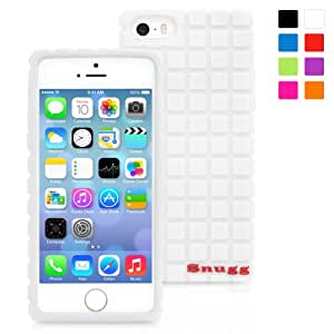 Snugg iPhone 5/5s Case - Protective, Non-Slip Silicone Case With Lifetime Guarantee (White) For Apple iPhone 5/5s