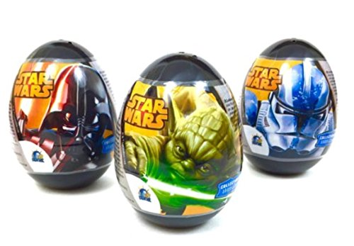 3 Star Wars Plastic Surprise Eggs  Toy Surprise,