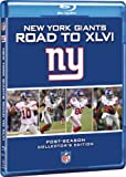 NFL New York Giants: Road to Xlvi [Blu-ray]