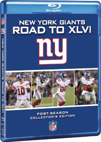 NFL New York Giants: Road to Xlvi [Blu-ray] (Super Bowl 46 Blu Ray compare prices)