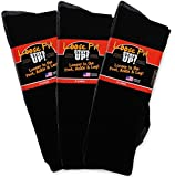 Loose Fit Stays Up Women's and Men's Socks 3 Pack